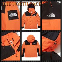 THE NORTH FACE Casual Style Unisex Street Style Plain Logo Jackets
