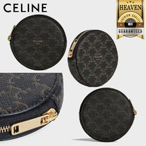CELINE Triomphe Coin Cases
