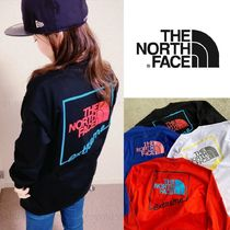 THE NORTH FACE Crew Neck Long Sleeves Long Sleeve T-shirt Logo