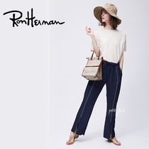 Ron Herman Casual Style Street Style Plain Long Slit Pants