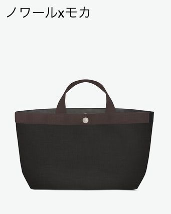 Casual Style Nylon Totes