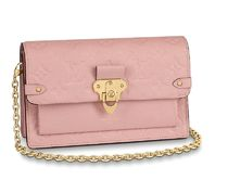 Louis Vuitton Monogram Casual Style Calfskin Street Style Leather