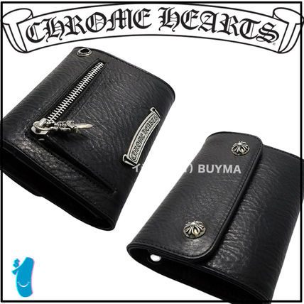 CHROME HEARTS SCROLL Folding Wallets