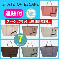 State of Escape Unisex Plain Office Style Oversized Co-ord Totes