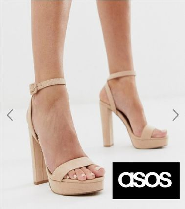 ASOS Round Toe Plain Party Style Shoes
