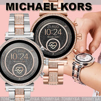 Michael Kors Casual Style Metal Round Party Style Office Style