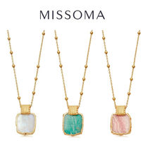 MISSOMA Chain Silver 18K Gold Elegant Style Necklaces & Pendants