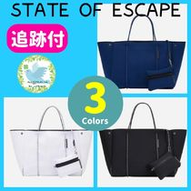 State of Escape Casual Style Unisex A4 2WAY Plain Office Style Oversized