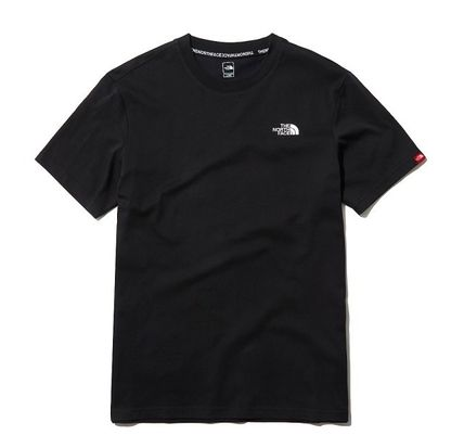 THE NORTH FACE Long Sleeve Unisex Street Style Cotton Short Sleeves Long Sleeve T-shirt 2