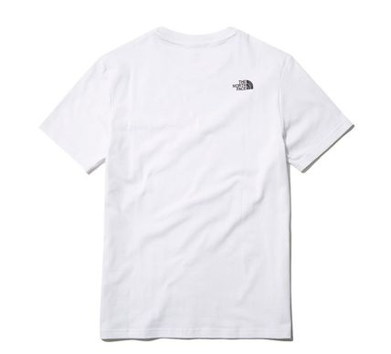THE NORTH FACE Long Sleeve Unisex Street Style Cotton Short Sleeves Long Sleeve T-shirt 6
