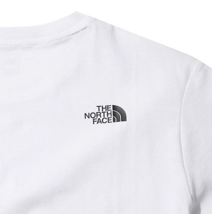 THE NORTH FACE Long Sleeve Unisex Street Style Cotton Short Sleeves Long Sleeve T-shirt 7