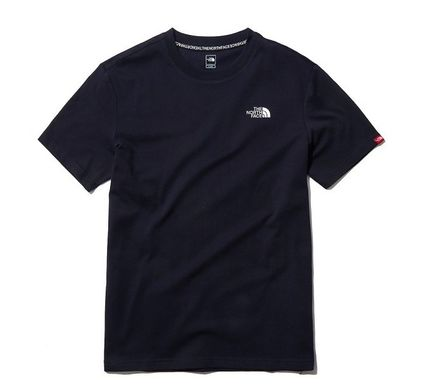 THE NORTH FACE Long Sleeve Unisex Street Style Cotton Short Sleeves Long Sleeve T-shirt 8