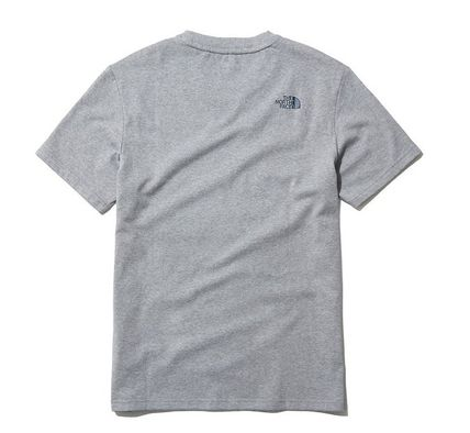 THE NORTH FACE Long Sleeve Unisex Street Style Cotton Short Sleeves Long Sleeve T-shirt 15