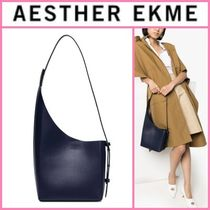 AESTHER EKME Casual Style Street Style Plain Leather Office Style