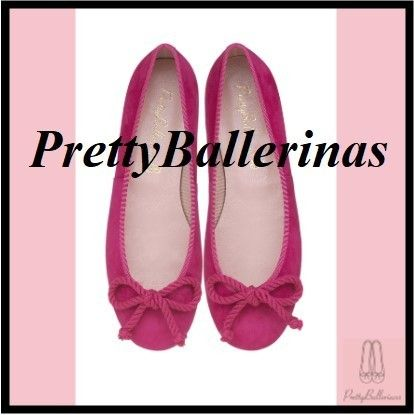 Pretty Ballerinas Suede Ballet Shoes