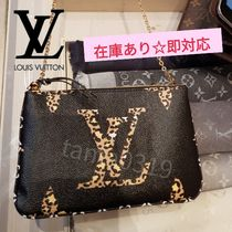 Louis Vuitton MONOGRAM Monogram Casual Style Blended Fabrics Street Style 2WAY
