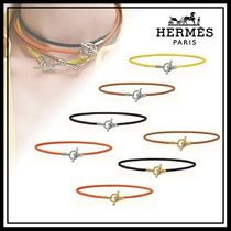 HERMES Casual Style Leather Necklaces & Pendants