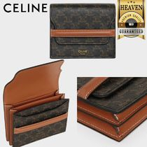 CELINE Triomphe Card Holders