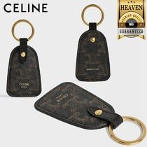 CELINE Triomphe Keychains & Holders