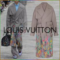 Louis Vuitton Flowers Embroidery Gardening Trench