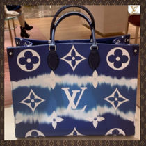 Louis Vuitton Casual Style Unisex Canvas Street Style A4 2WAY Party Style