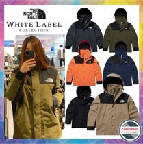 THE NORTH FACE WHITE LABEL Unisex Nylon Street Style Long Khaki Logo Gore-Tex