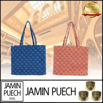 JAMIN PUECH Casual Style Plain Leather Elegant Style Shoulder Bags