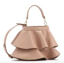 repetto Casual Style Leather Shoulder Bags