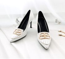 gumzzi Plain Toe Casual Style Pin Heels Party Style Office Style