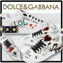 Dolce & Gabbana Casual Style Street Style Low-Top Sneakers