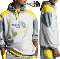 THE NORTH FACE Pullovers Sweat Street Style Bi-color Long Sleeves Cotton