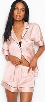 Victoria's secret Dots Blended Fabrics Plain Co-ord Logo Lounge & Sleepwear