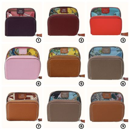 Leather Small Wallet Coin Cases