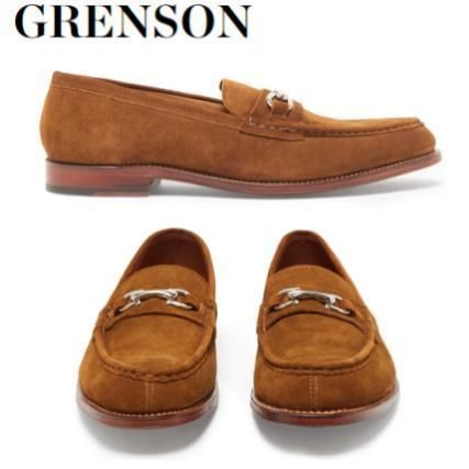 Grenson More Shoes Suede Street Style Plain Shoes