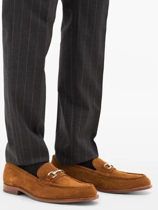 Grenson More Shoes Suede Street Style Plain Shoes 3