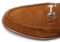 Grenson More Shoes Suede Street Style Plain Shoes 5