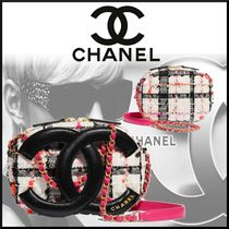 CHANEL Casual Style Lambskin Street Style Chain Leather Crossbody
