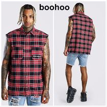 boohoo Other Plaid Patterns Street Style Tanks
