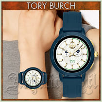 Tory Burch Casual Style Unisex Blended Fabrics Street Style Silicon
