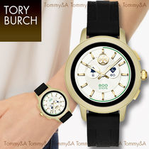 Tory Burch Casual Style Unisex Blended Fabrics Street Style Metal