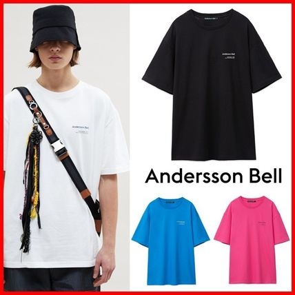 ANDERSSON BELL More T-Shirts Unisex Street Style Collaboration Plain Cotton Short Sleeves