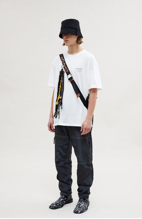 ANDERSSON BELL More T-Shirts Unisex Street Style Collaboration Plain Cotton Short Sleeves 3