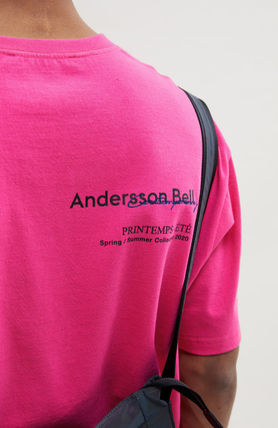 ANDERSSON BELL More T-Shirts Unisex Street Style Collaboration Plain Cotton Short Sleeves 6