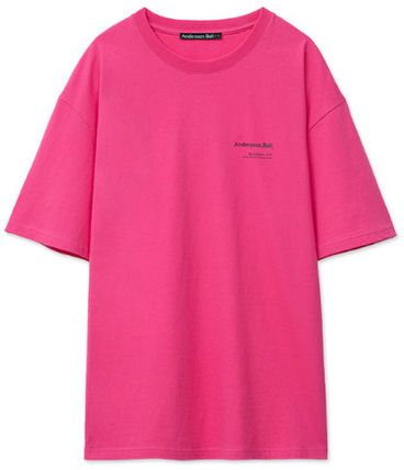 ANDERSSON BELL More T-Shirts Unisex Street Style Collaboration Plain Cotton Short Sleeves 7