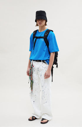 ANDERSSON BELL More T-Shirts Unisex Street Style Collaboration Plain Cotton Short Sleeves 8