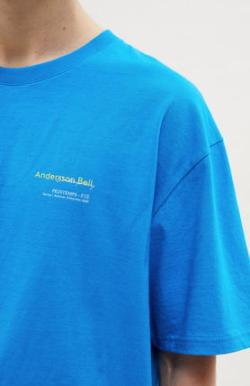 ANDERSSON BELL More T-Shirts Unisex Street Style Collaboration Plain Cotton Short Sleeves 9