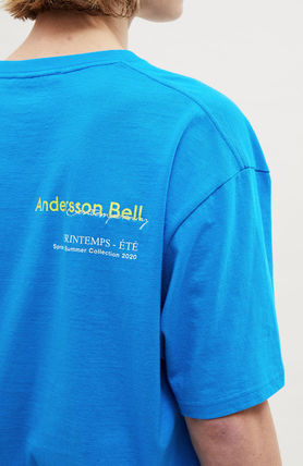 ANDERSSON BELL More T-Shirts Unisex Street Style Collaboration Plain Cotton Short Sleeves 10