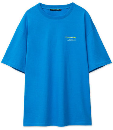 ANDERSSON BELL More T-Shirts Unisex Street Style Collaboration Plain Cotton Short Sleeves 11