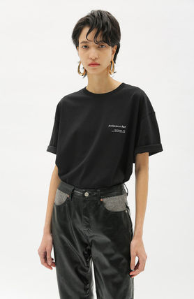 ANDERSSON BELL More T-Shirts Unisex Street Style Collaboration Plain Cotton Short Sleeves 12