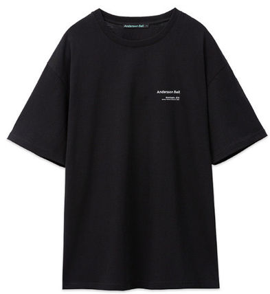 ANDERSSON BELL More T-Shirts Unisex Street Style Collaboration Plain Cotton Short Sleeves 14
